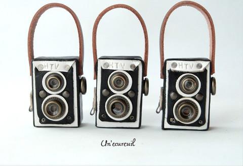 2眼レフカメラpremium(黒)