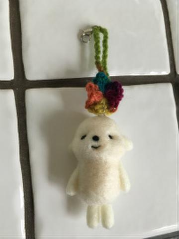 羊毛チャーム(カラフルA)