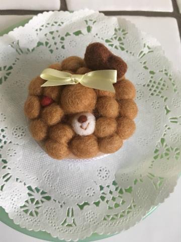 モコモコケーキ(チョコ)