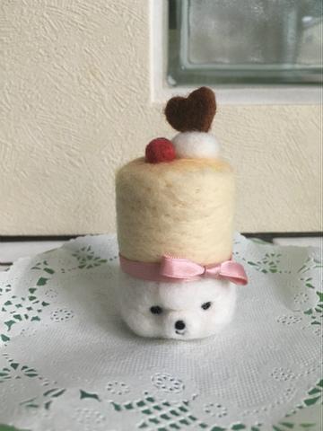 バレンタインちこチーズケーキ