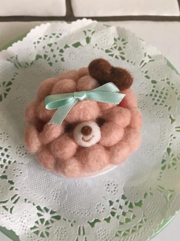 モコモコケーキ(いちご)