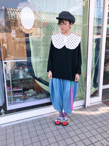 着せ替えREMOVABLE BIG COLLAR  / WOMEN / frankygrow