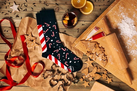 adult Mens&Ladys socks sweet X-mass  / manymornings