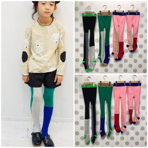 (コドモ S〜LL) ASYMMETRIC TIGHTS  / frankygrow