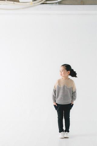 コドモ ドロップタイトパンツ / nunuforme