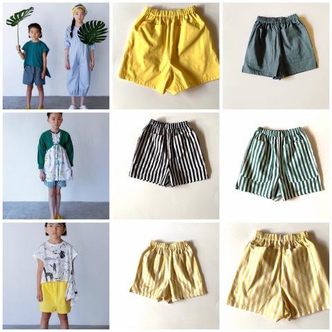 (コドモ) (ジュニア)  short  pants / folk made