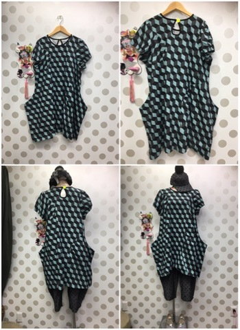 (オトナ) cube GOURD FORM DRESS /frankygrow