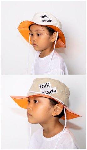 (コドモ)(オトナ)lalique hat /folkmade