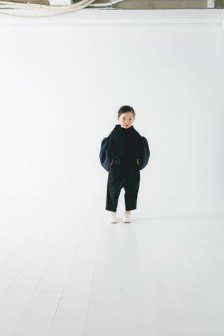 コドモ ギャザースリーブトレーナー / nunuforme