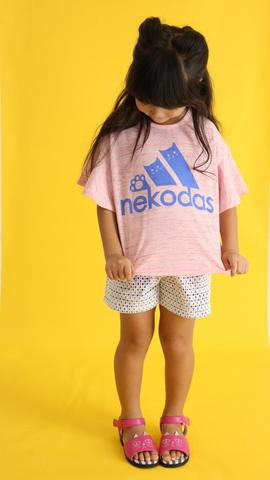 kids ネコダスTシャツ /unica