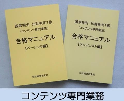国家検定 知財検定1級(コンテンツ専門業務)合格マニュアル2018年版(送料等別料金)
