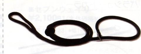 クッションケンネルリードCKR160 黒 160cm