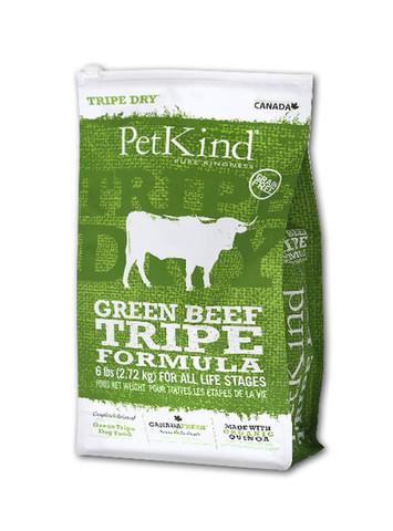 【PetKind】ペットカインド(トライプドライ)グリーンビーフトライプ 11.34kg