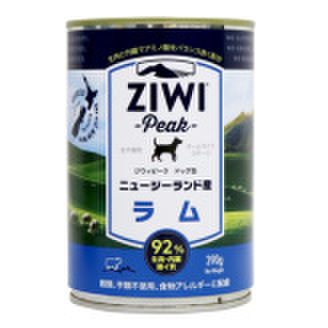 ZiwiPeak(ジウィピーク)ドッグ缶 ラム 390g×12缶セット