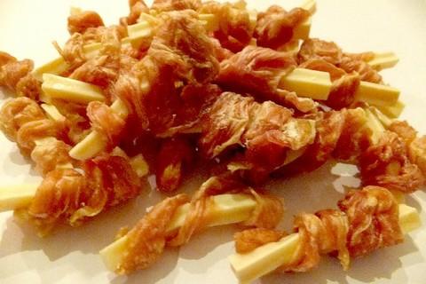 鶏ささみ巻きチーズスティック25g