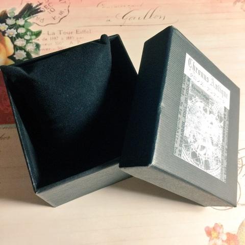 【腕時計ご購入の方限定】プレゼントボックス(黒)