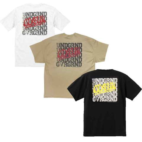 """UNDR-GRND""  T-shirts"