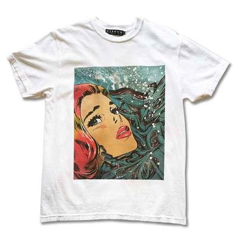 """""""Espy Monster"""" T-shirts(ポスター付) white"""