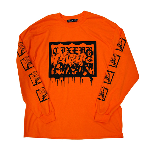 ESPY × CIXEUR Longsleeve T orange