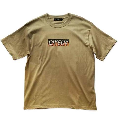 """BOX LOGO"" T-shirts beige"