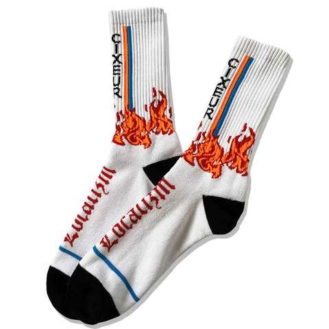 "socks ""Localizm & flame"""