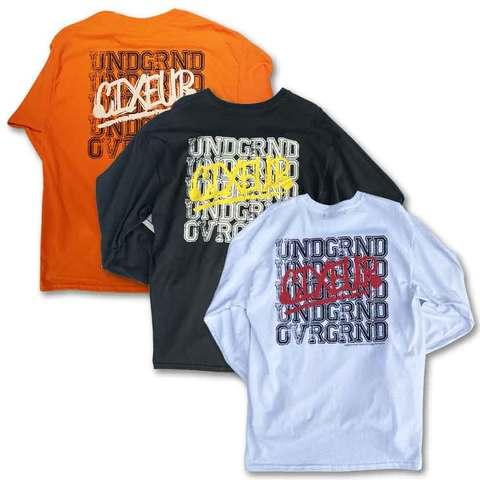 """UNDR-GRND"" Longsleeve T-shirts"