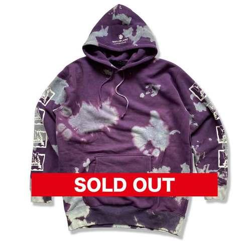 """Tie dye hoody """"purple"""""""
