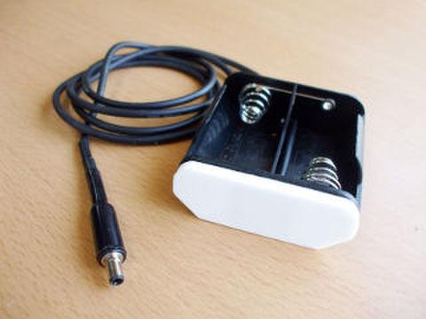 アルカリ単一乾電池用 電源供給部