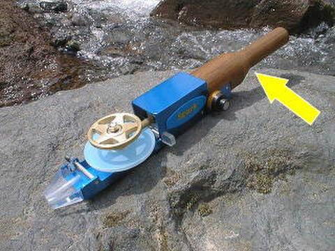 電動リールの木部交換修理を承ります。(基本料込み)