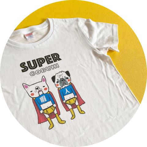 ブリーフマンTシャツ(生成り色)