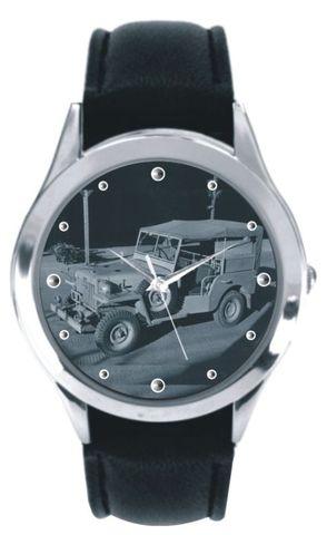 腕時計 黒革ベルトタイプ