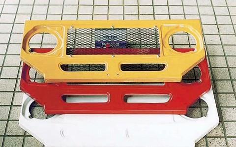 FRP 40系用 ラジエターカバーパネル