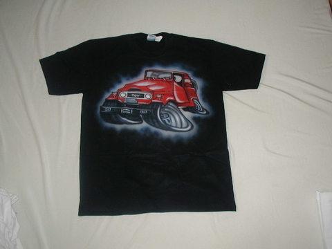 エアブラシTシャツ