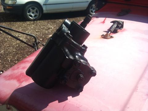 40 50 パワステギアボックス 右ハンドル用 L/C40&50 P/S Gear box RHD