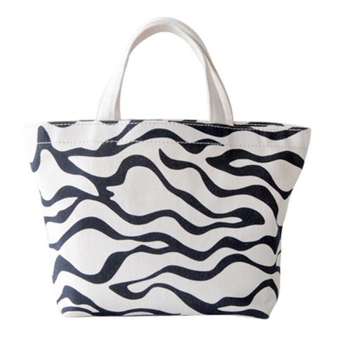 帆布ランチトートバッグ Zebra(ゼブラ)