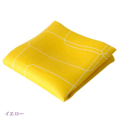 麻ハンカチ〈湖東麻織物〉 Ishigaki(イシガキ)