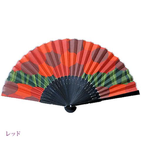高島扇骨&湖東麻織物の布扇子 yurugikabu(ユルギカブ)