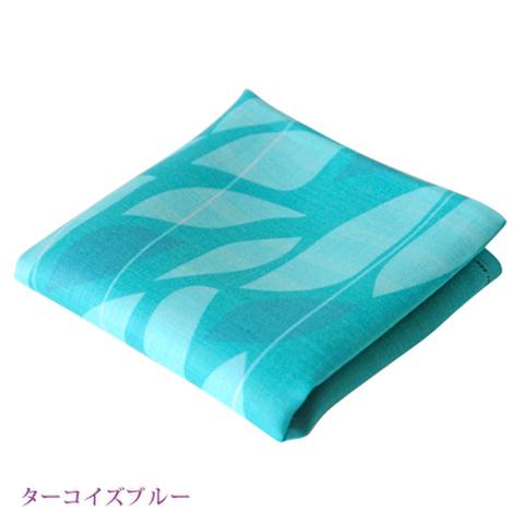 麻ハンカチ〈湖東麻織物〉 Ohmicha(オウミチャ)