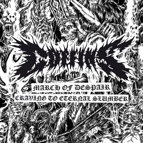 """MARCH OF DESPAIR+CRAVING TO ETERNAL SLUMBER"" - CD"