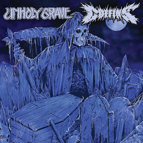 SPLIT with UNHOLY GRAVE (JP) - CD