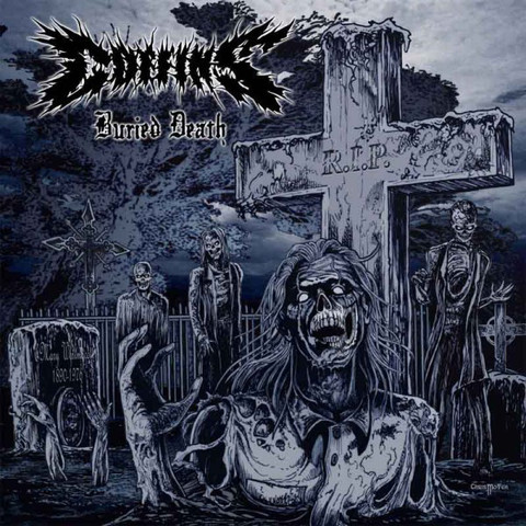 """BURIED DEATH"" - CD"