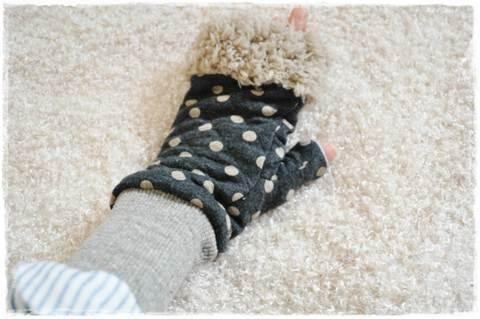 ★発送用★ミシンで作るミトン手袋(大人フリーサイズ)