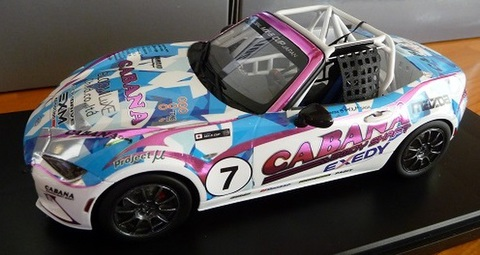 "2017GLOBAL MX-5 CUP JAPANモデルカー""CABANA Racing MX-5"""