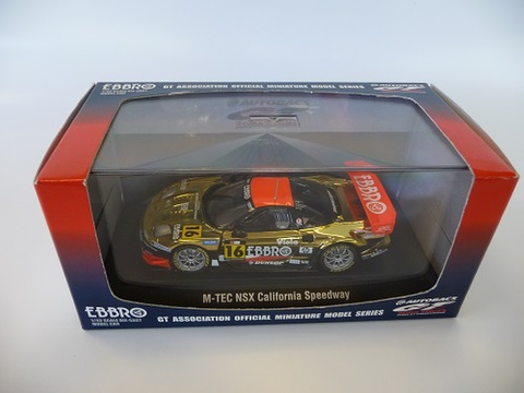 EBBRO 1/43 JGTC 2004 M-TEC NSX All Star