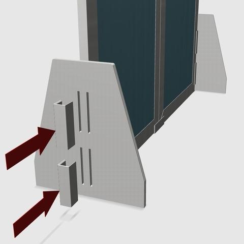 カンフィパネル用自立スタンド2枚セット