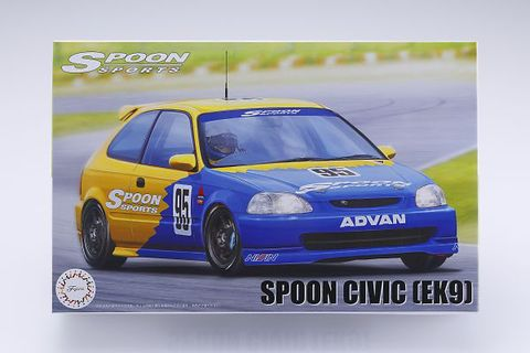 SPOON UNASSEMBLED MODEL KIT [1:24] EK9 N1