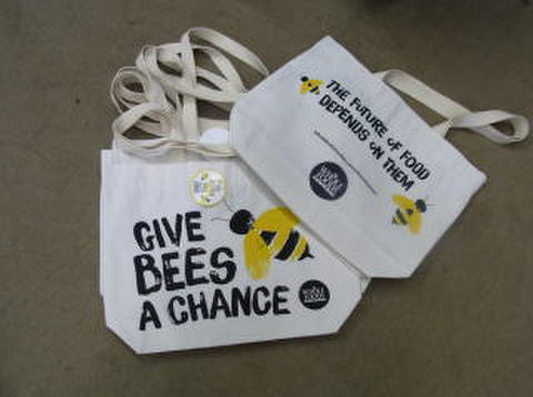 ECO BAG WHOLE FOODS CANVAS BEE