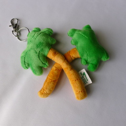 IN-N-OUT PLUSH KEYCHAIN