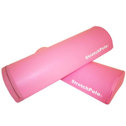 ストレッチポール ハーフカット(1セット2本)  ピンク