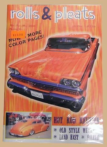 MAGAZINE「rolls & Pleats #14」
